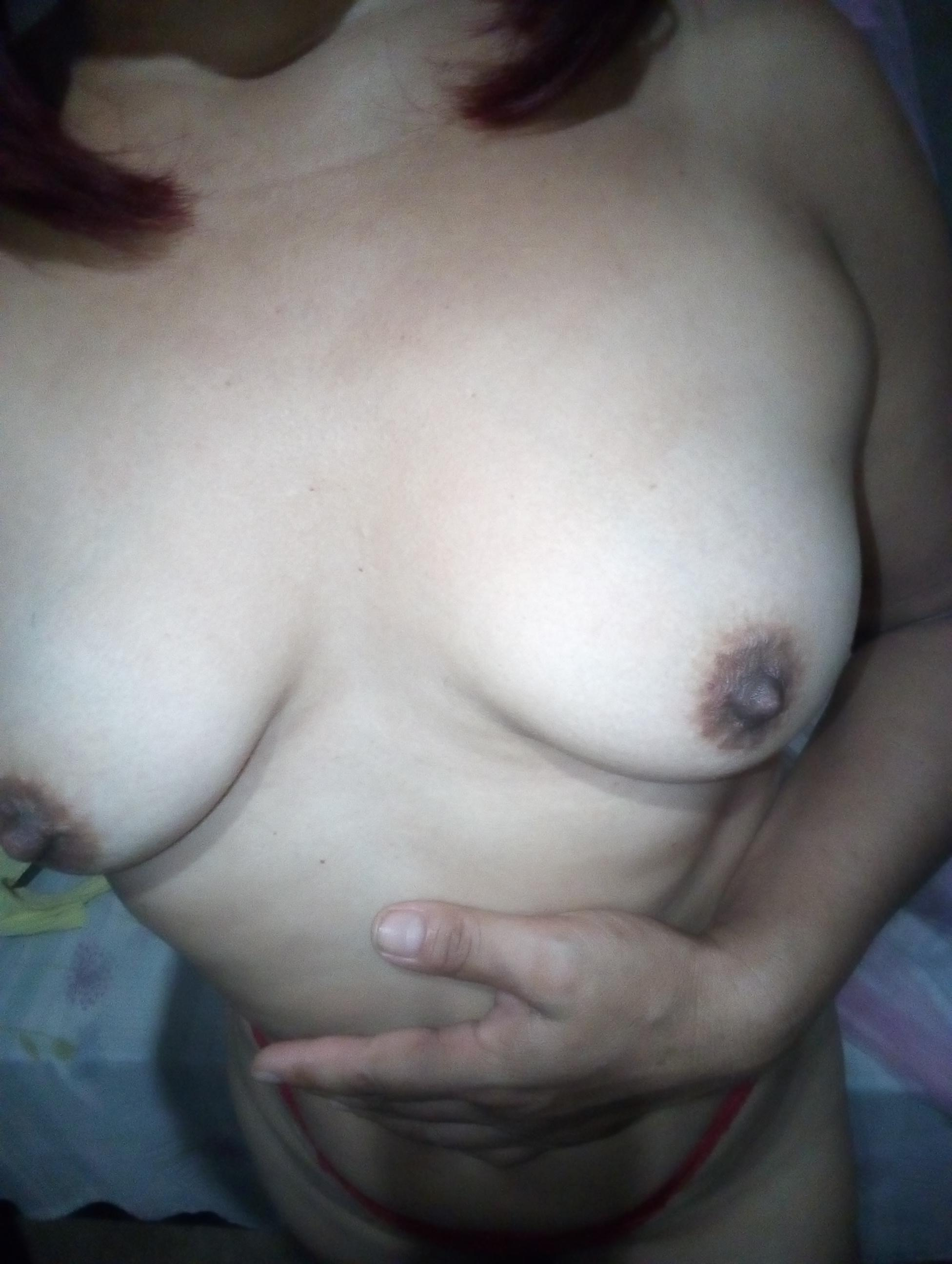 Picture with tags: Topless, Underwear, Video chat