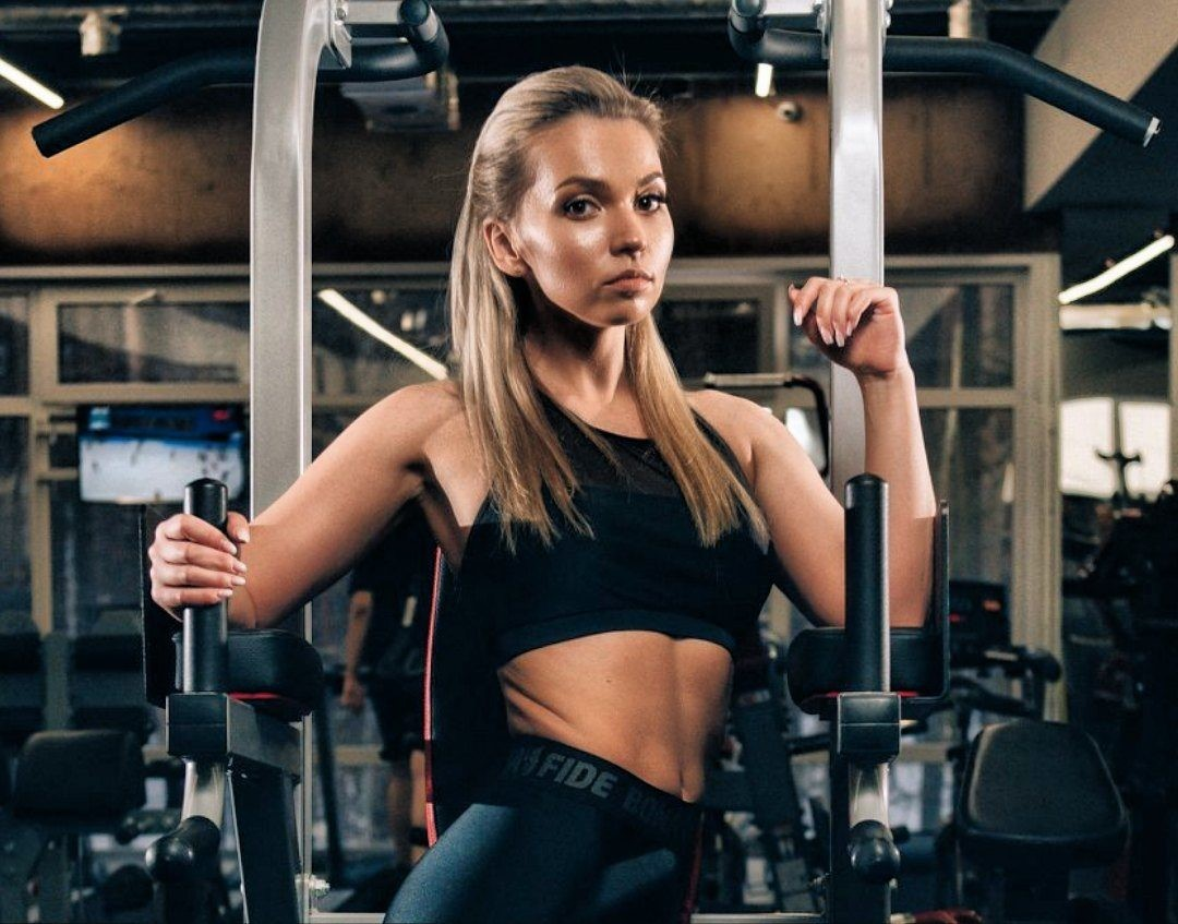 Picture with tags: Blonde, Interesting, Sport, Fitness, Girl